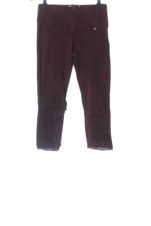Tredy Legging rood casual uitstraling
