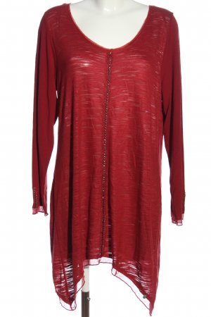 Tredy Long-Bluse rot Casual-Look