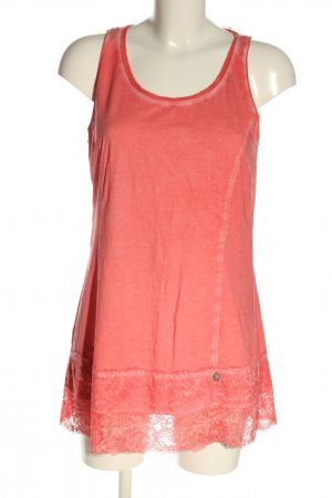 Tredy Longshirt pink Casual-Look