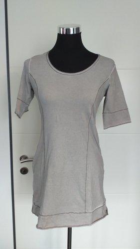 Tredy Camicia lunga grigio chiaro-grigio