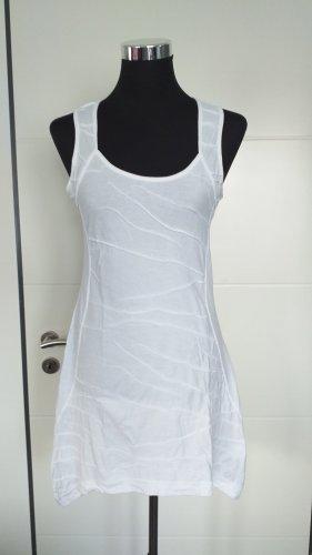 Tredy Camicia lunga bianco