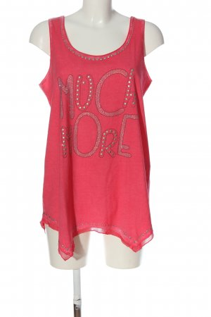 Tredy Longtop pink Casual-Look