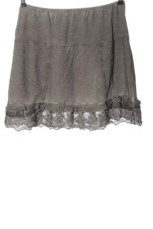 Tredy Miniskirt light grey casual look