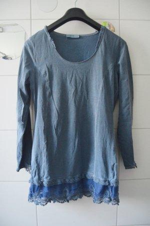 Tredy Oberteil gr.40 wasched blau