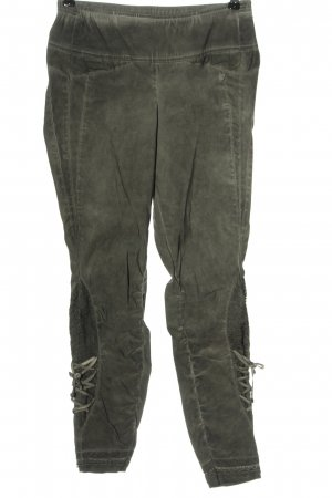 Tredy Drainpipe Trousers khaki casual look