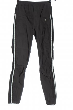 Tredy Pantalone a sigaretta grigio chiaro-bianco stile casual