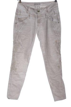 Tredy Tube Jeans light grey casual look