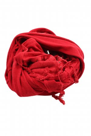 Tredy Snood red casual look