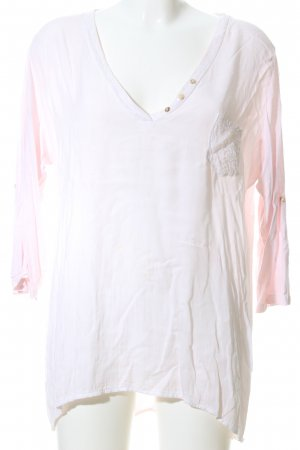 Tredy Schlupf-Bluse pink Casual-Look