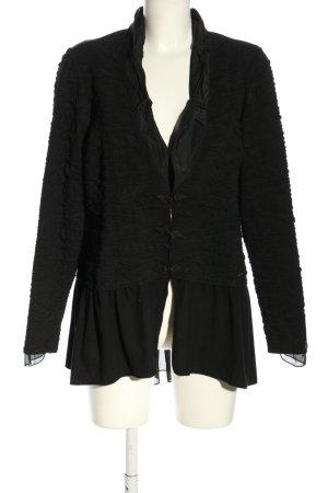 Tredy Giacca-camicia nero stile professionale