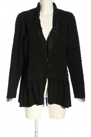Tredy Veste chemise noir style d'affaires