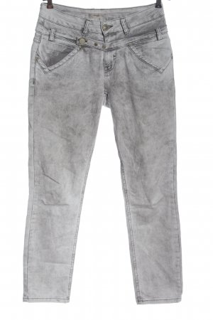 Tredy Skinny Jeans light grey street-fashion look
