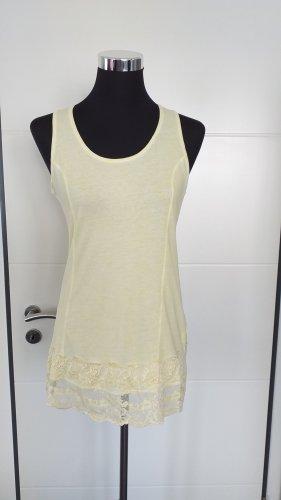 Tredy Camicia lunga giallo pallido