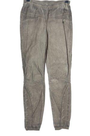 Tredy Pantalone jersey grigio chiaro stile casual