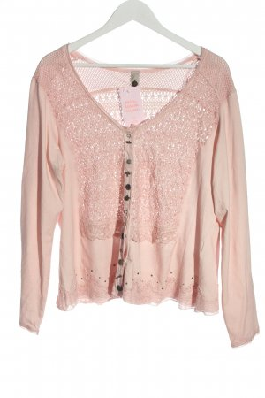 Tredy Knitted Cardigan pink casual look