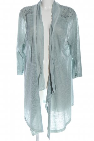 Tredy Knitted Cardigan blue casual look