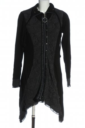 Tredy Sweat Jacket black casual look