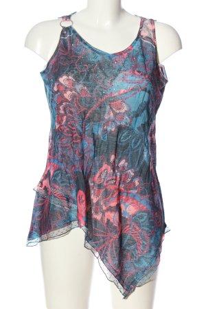 Tredy Strickshirt abstraktes Muster Casual-Look