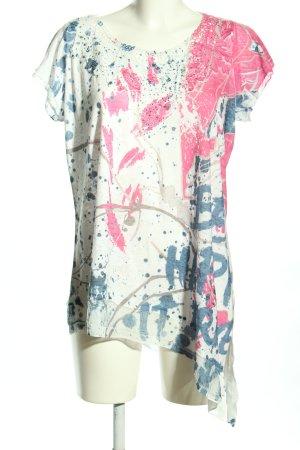 Tredy T-Shirt abstraktes Muster Casual-Look