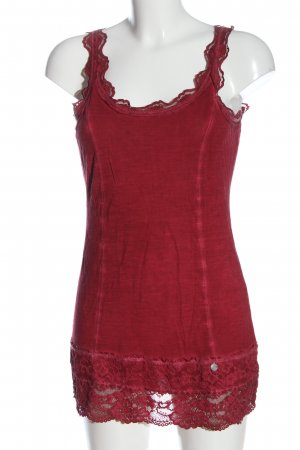 Tredy Tank Top red casual look