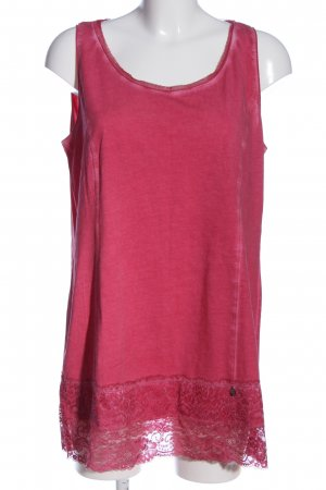 Tredy Tunikabluse pink meliert Casual-Look