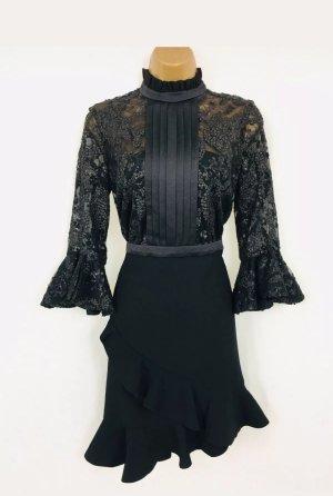 Tree Floor Drei Boden Mode Kleid Gr 10 Schwarz Harvey Nichols