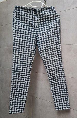 H&M Treggings bianco-nero