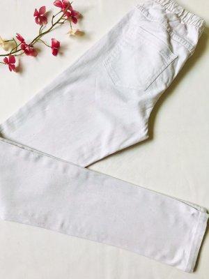 Pieces Treggings blanco