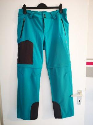 OCK Pantalón elástico turquesa