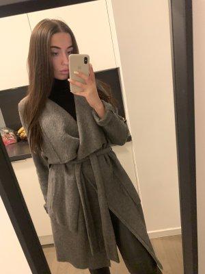 Zara Abrigo de lana multicolor