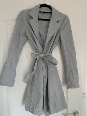 Zara Basic Trenchcoat argenté