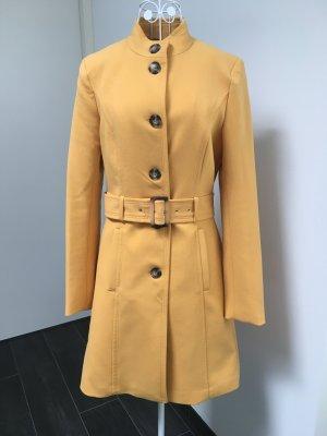 Orsay Trench Coat gold orange-dark yellow polyester