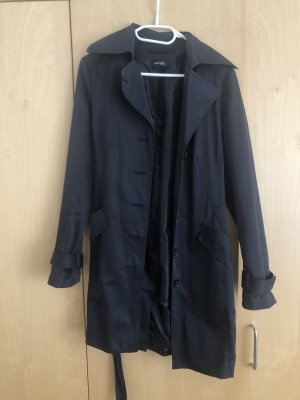 Avenue Foch Trenchcoat donkerblauw-zwart