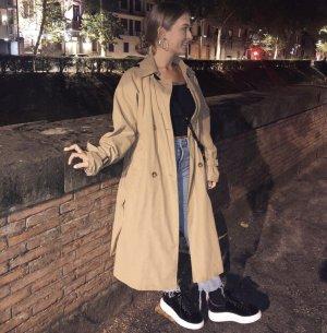 Zara Basic Trenchcoat chameau