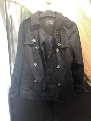 Zara Basic Trench Coat black