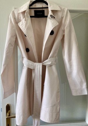 Reserved Trench Coat multicolored cotton