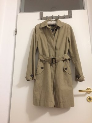 Marco Polo Trench Coat sand brown cotton