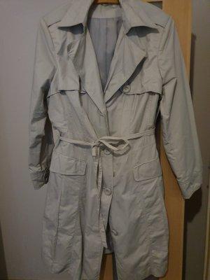 Trenchcoat gris clair