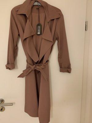 All Saints Trench Coat multicolored mixture fibre