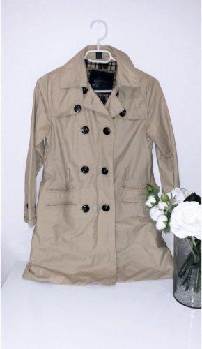 Trenchcoat beige braun jacke mantel zara
