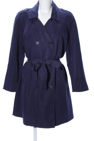 Trenchcoat bleu style d'affaires