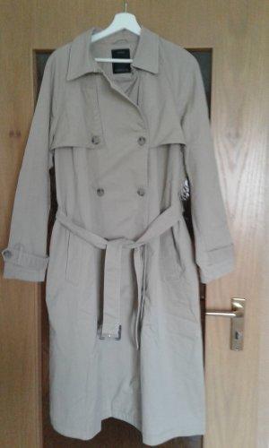 Yessica Trench marrone-grigio Cotone