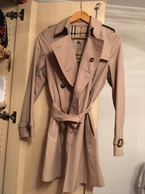 Burberry Trench Coat gold-colored