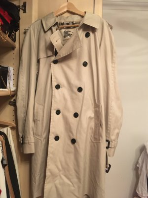Burberry Trench Coat light grey-natural white