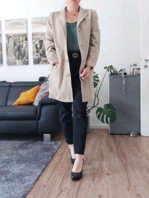 DKNY Manteau mi-saison beige tissu mixte
