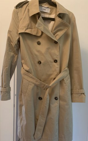 Trenchcoat closed beige