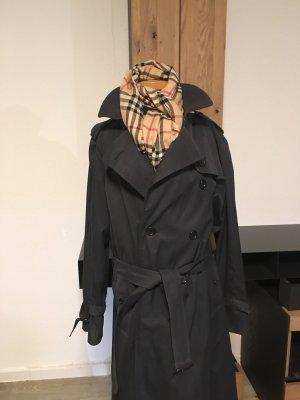 Trenchcoat Dunkelblauer Burberry Mantel Gr. 44 Damenmantel