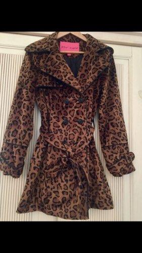 Betsey Johnson Short Coat black-brown