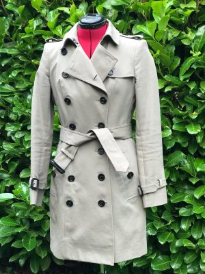 Burberry Prorsum Trench Coat multicolored cotton