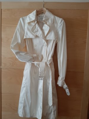 H&M M By Madonna Trench Coat natural white polyester